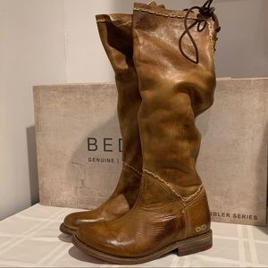 Bed Stu Manchester Tall Leather Boots NWT size 6